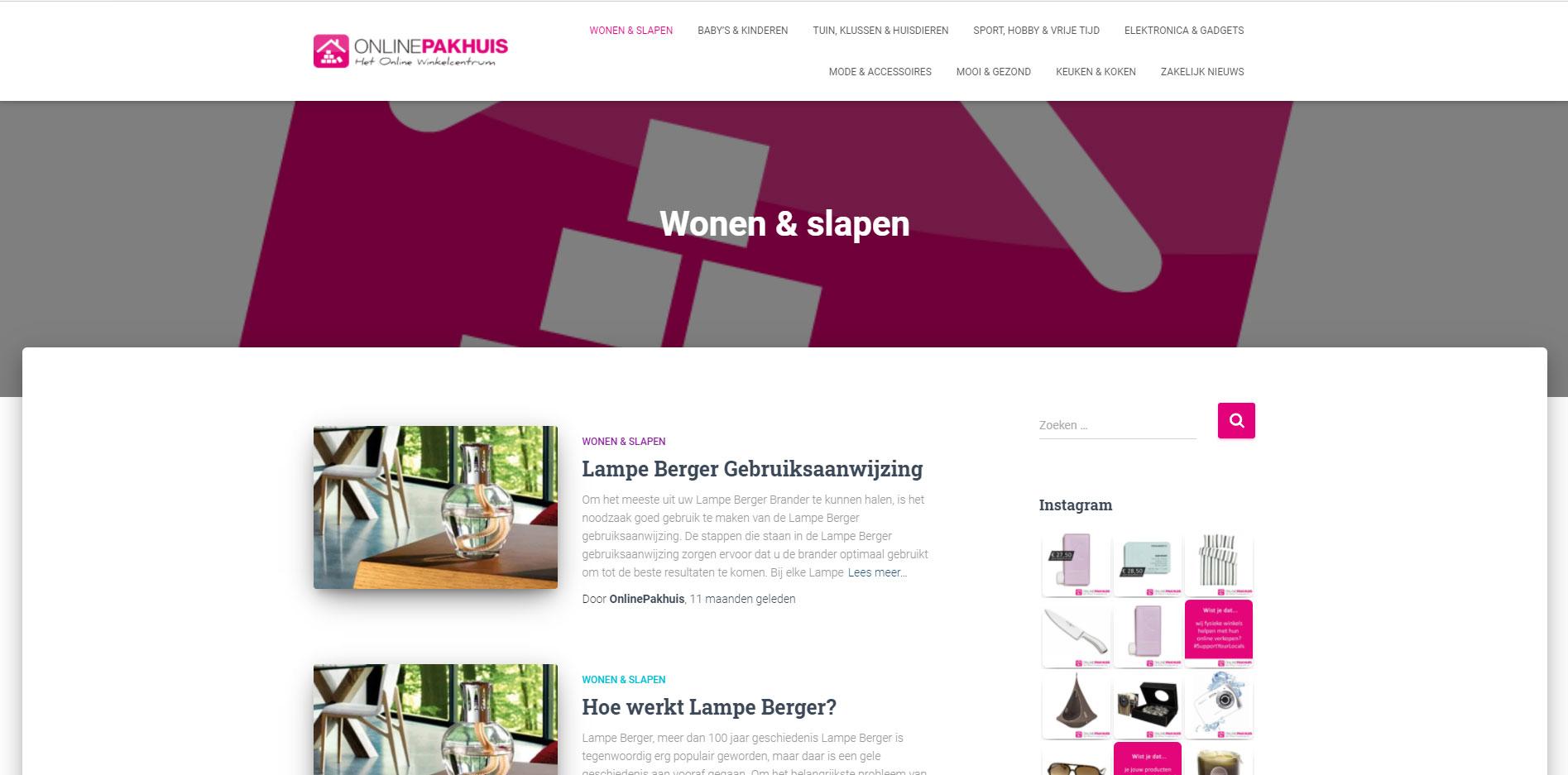 OnlinePakhuis Blog